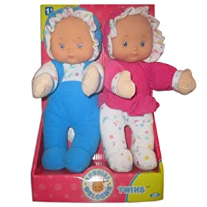 Special Welcome Twin Dolls