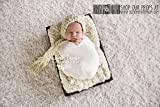 Hypoallergenic & Washable LARgE Short Faux Fur Newborn Photo Props, Lullaby Lamb, Photography Props Baby Blanket - Faux Fur, Baby Props, Fur