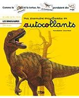Ma première encyclopédie en autocollants : Dès 4 ans - Les dinosaures
