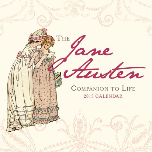 2013 Jane Austen Companion to Life mini wall calendar