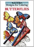 Designs for Coloring: Butterflies (0448031493) by Heller, Ruth