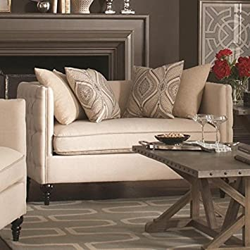 Claxton Collection Tufted Loveseat