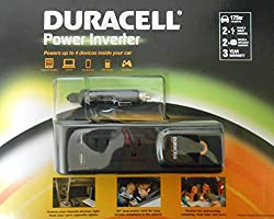 See Duracell Power Inverter, 175 W, 2 USB and 2 AC outlets Details