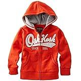 OshKosh B'Gosh Boy's Orange Full Zip Heritage Hoodie