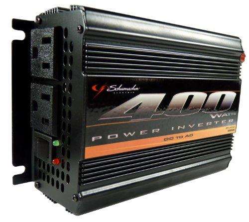 Schumacher PI-400 Instant Power DC to AC Power Inverter – 400 Watts