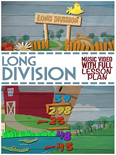 Long Division Song For Kids: Educational Math Video For 3rd and 4th Grade