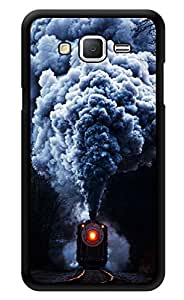 """Humor Gang Steam Train Printed Designer Mobile Back Cover For """"Samsung Galaxy j2"""" (3D, Glossy, Premium Quality Snap On Case)"""