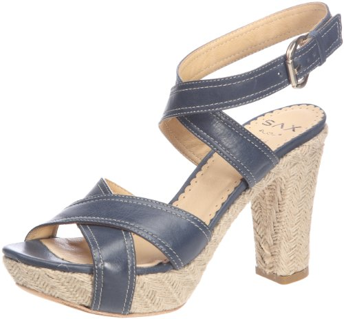 Sax 24427, Sandali Donna, Blu (Denim Bleu (Mallows Denim)), 41