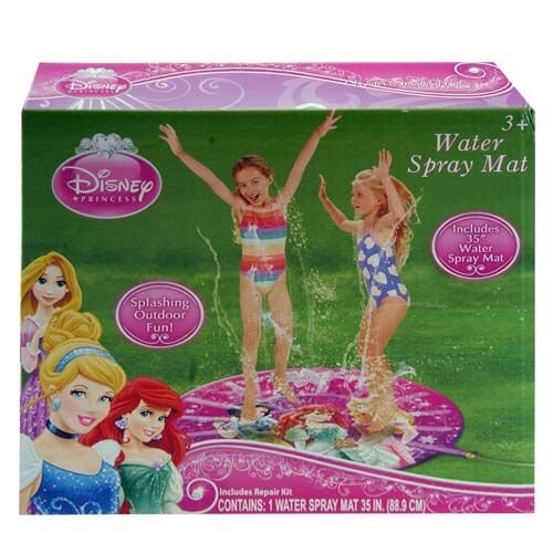 "Water Spray Mat - Disney - Princess 35"" (Summer Swimming Game)"