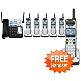 At Amp T Cl84402 Corded Telephone 4 Additional Handheld