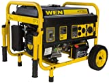 WEN 56475 4750-Watt Generator with Electric Start and Wheel...