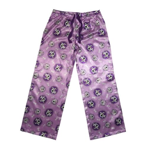 Girls La Senza Girl Comfortable Sleepwear / Pajama Pants - Purple & White