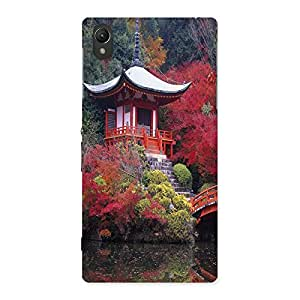 Ajay Enterprises Flowhouse Back Case Cover for Sony Xperia Z1