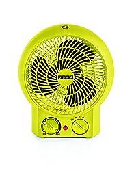Usha FH 3620 2000-Watt Fan Heater (Yellow)
