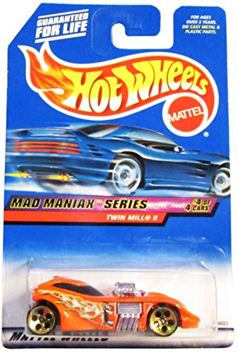 Hot Wheels Twin Mill II #020 Year: 2000 Mad Maniax Series #4 of 4