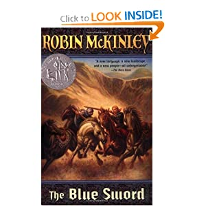 The Blue Sword (Newbery Honor Roll) by