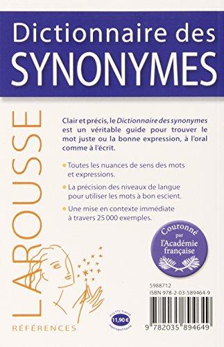 dictionnaire des synonymes larousse emile genouvrier. Black Bedroom Furniture Sets. Home Design Ideas