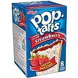 海外直送Kellogg's Frosted Strawberry Pop Tarts 14.7 OZ (416g)