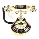 VivReal® Retro Telefon Festnetztelefon Tisch Haustelefon Retrotelefon Hausdeko Modetrend