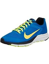 Nike Men's Zoom Structure+ 17 Military Blue,Atomic Mango,Venom Green,Black  Running Shoes -7 UK/India (41 EU)(8 US) at amazon