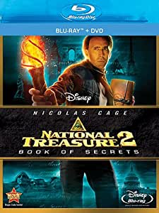 National Treasure 2: Book of Secrets [Blu-ray + DVD]