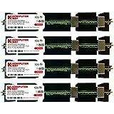 Komputerbay 16GB (4x4GB) DDR2 PC2-6400F 800MHz ECC Fully Buffered FB-DIMM (240 PIN) 16 GB w / Heatspreader für Apple-Computer