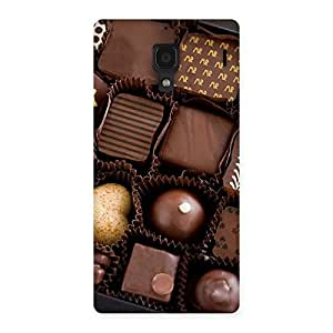 Cute Sweet Choco Pack Multicolor Back Case Cover for Redmi 1S