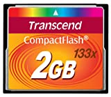 Transcend – Flash memory card – 2 GB – 133x – CompactFlash Picture