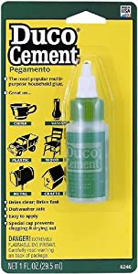 ITW Devcon 6246 Duco Cement No-Clog Tip 1-Ounce Tube