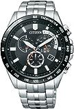 [シチズン]CITIZEN 腕時計 Citizen Collection シチズン コレクション Eco-Drive エコ・ドライブ 電波時計 クロノグラフ AT3004-58E メンズ
