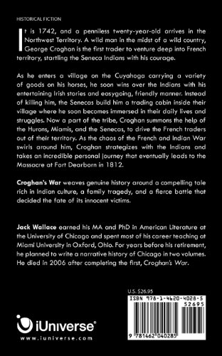 Croghan's War: A Story about the Origin of Chicago