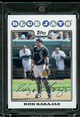 Rod Barajas - Toronto Blue Jays - 2008 Topps Updates & Highlights Baseball Card in Protective Screwdown Display Case!