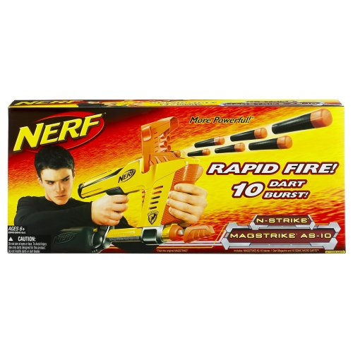 N-Strike Magstrike AS-10 Nerf Machine Gun