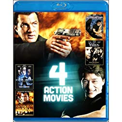 4-Film Action Pack V.4 [Blu-ray]