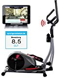 Sportstech CX610 Profi Crosstrainer mit Smartphone App...