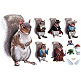 Children's Exclusive What On Earth Dress Up Squirrel Costume Magnets
