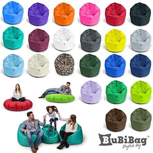 Sitzsack-BuBiBag-M-XXL-2-in-1-mit-Fllung-Sitzkissen-Tropfenform-Bodenkissen-Kissen-Sessel-BeanBag