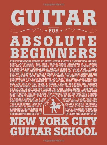 Guitar For Absolute Beginners (for Guitar) (Guitar New York compare prices)