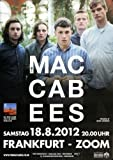 Macabees Wall Of Arms 2012 - Concert Poster Concertposter