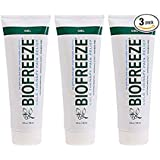 Biofreeze Pain Relieving Gel - 4 Ounce Tube - Pack of 3