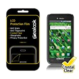 "REALOOK T-Mobile ""Vibrant"" Samsung Galaxy S (2010 Model, SGH-T959) Screen Protector, Crystal Clear 2-PK ~ Realook"