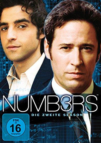 Numb3rs - Die zweite Season [6 DVDs]