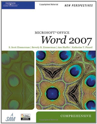 New Perspectives On Microsoft Office Word 2007, Comprehensive (New Perspectives (Course Technology Paperback))