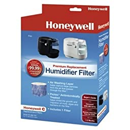 1 X Honeywell C Premium Replacement Humidifier Filter - HC-888-TGT for Honeywell HCM-890 Series by Honeywell