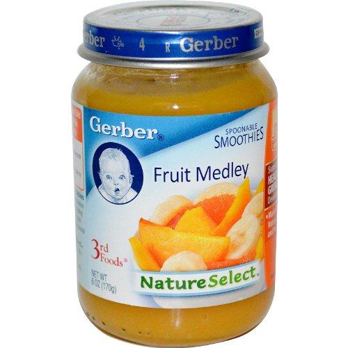 Gerber, 3rd Foods, NatureSelect, Fruit Medley, 6 oz (170 g)