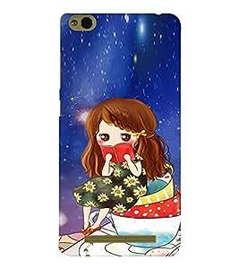 EPICCASE I Love Books Mobile Back Case Cover For Xiaomi 3S Prime (Designer Case)