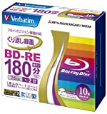 Verbatim BD-RE 25GB 2x 10pack(Japan imported)