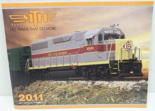 MTH 2011 HO Model Trains Catalog