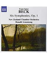 symphonies, op.1 nos 1 a 6