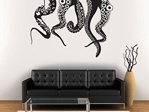 Wall Decal Vinyl Sticker Decals Art Decor Design Octopus Tentacles Cars Decal Moto Boys Mans Gift Hood Bedroom Dorm (R1166) front-939303